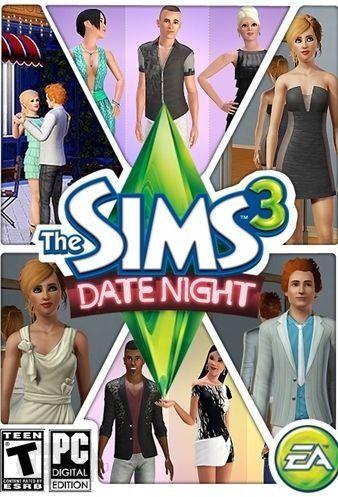 The Sims 3: Nocna Randka DLC (PC ) klucz Origin