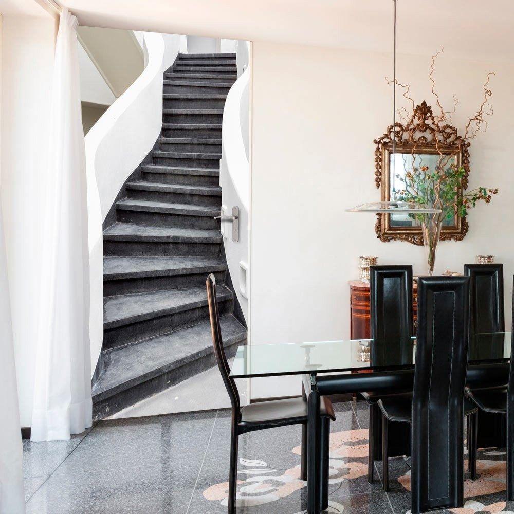 Fototapeta na drzwi - tapeta na drzwi - schody