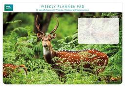 Planer tygodniowy Chital Deer ZAKŁADKA DO KSIĄŻEK GRATIS DO KAŻDEGO ZAMÓWIENIA