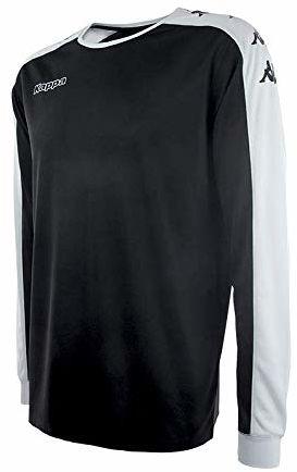 Kappa Tanis SS koszulka piłkarska, uniseks, dla dorosłych, rozmiar XS, czarna