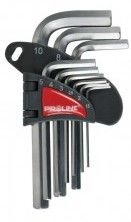 Zestaw kluczy imbusowych 1,5-10mm 9 sztuk PROLINE 48309