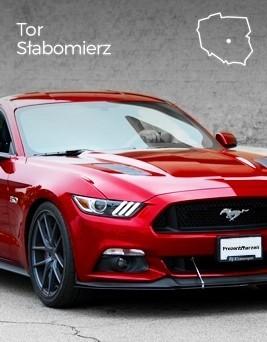 Jazda za kierownicą Forda Mustanga  Tor Słabomierz