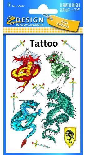 Tatuaże Z-Design - smoki