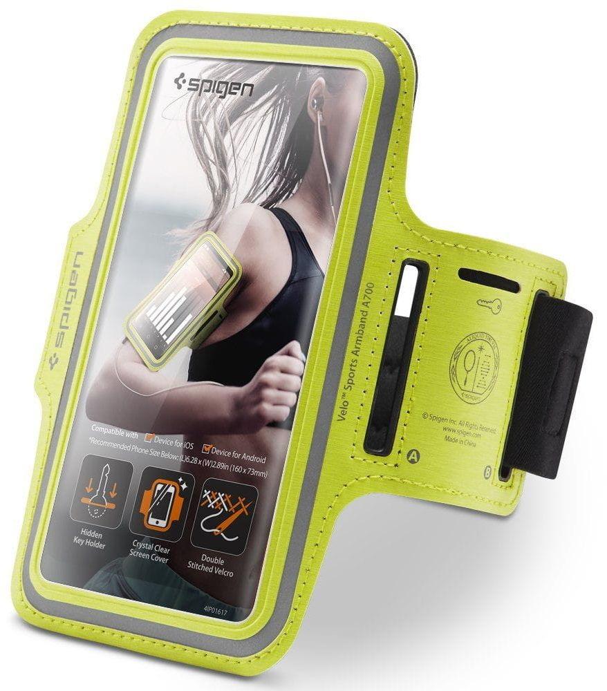 Etui opaska na ramie Spigen A700 Sport Armband 6.9 Neon