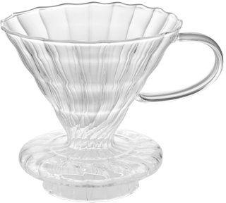 Zaparzacz do kawy przelewowy dripper DUKA BARISTA transparentny szkło