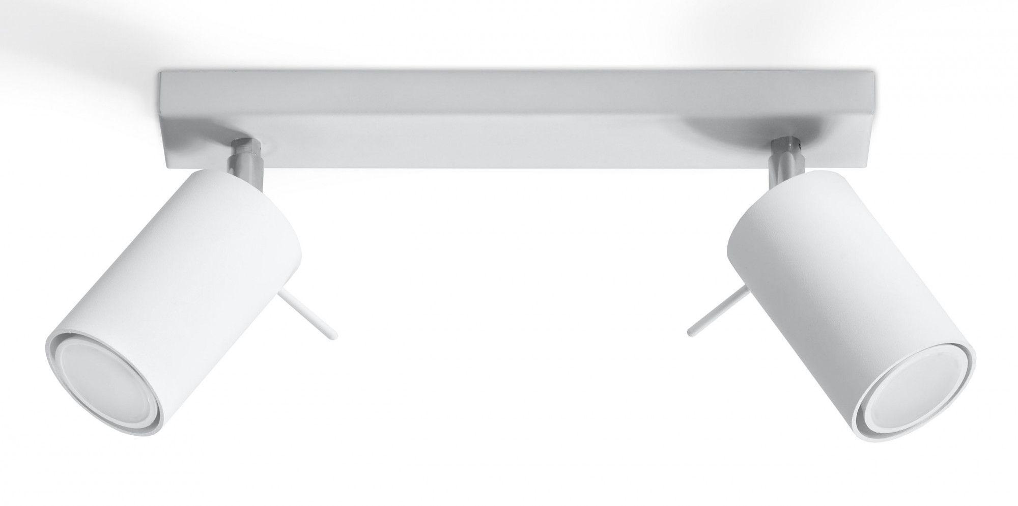 Regulowany plafon LED E782-Rins - biały