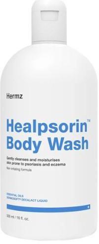 Healpsorin Body Wash żel do mycia ciała dla skóry dotkniętej zmianami łuszczycowymi 500 ml