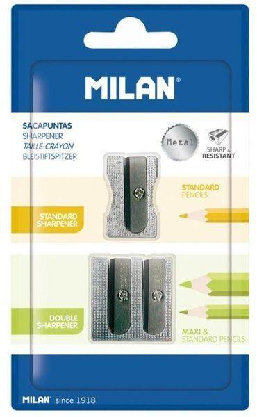 Termperówka aluminiowa poj. i podwój. 2szt MILAN