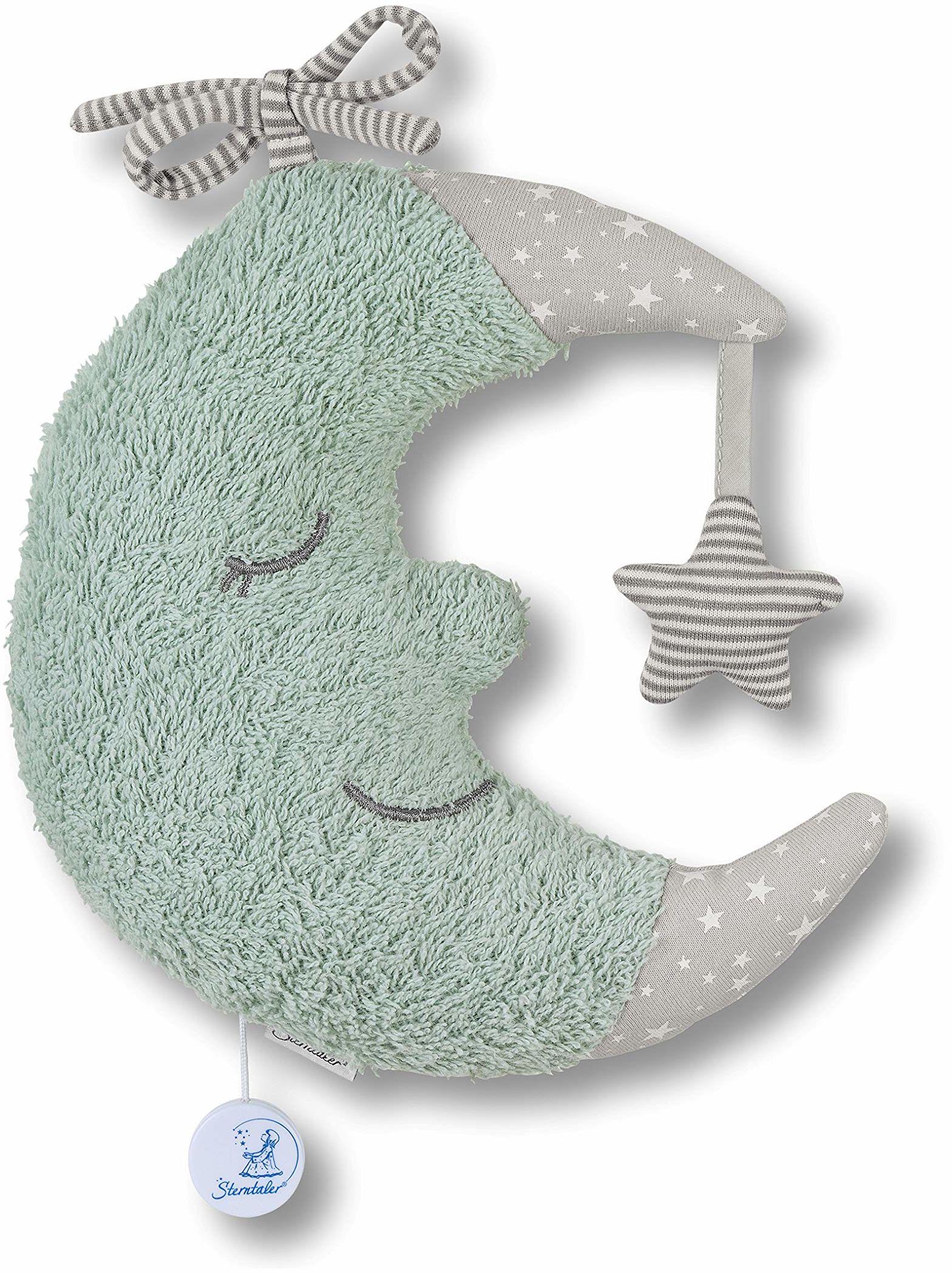 Pozytywka L księżyc puder zielony