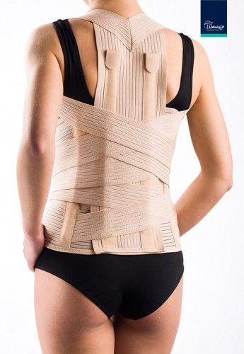 Wysoka orteza piersiowo-lędźwiowo-krzyżowa regulowana TGO-R WSLK-R 704