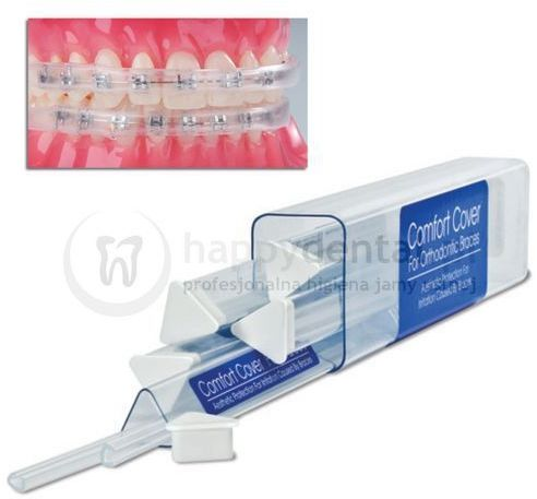 OCHRANIACZ Comfort Cover do ust i policzków dla osób noszących aparat ortodontyczny