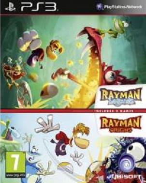 Rayman Legends+Rayman Origins PS3