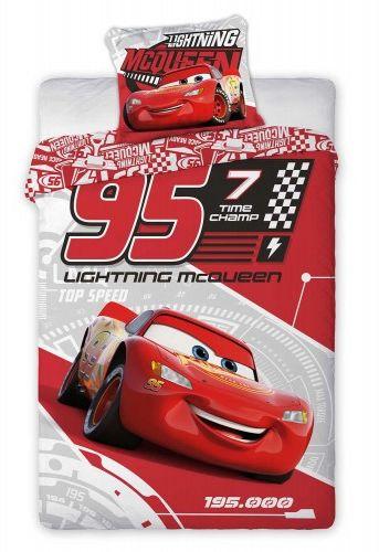 Faro Pościel bawełna 140x200 Cars czerwony