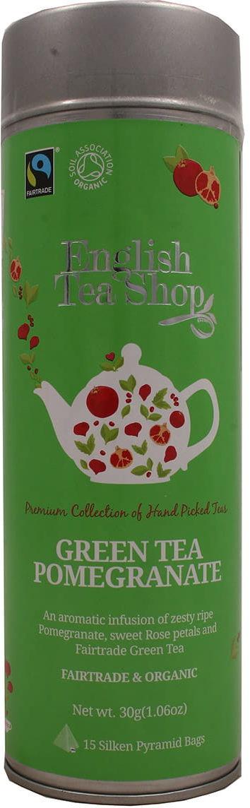 Herbata 15 green tea pomegranate English Tea Shop