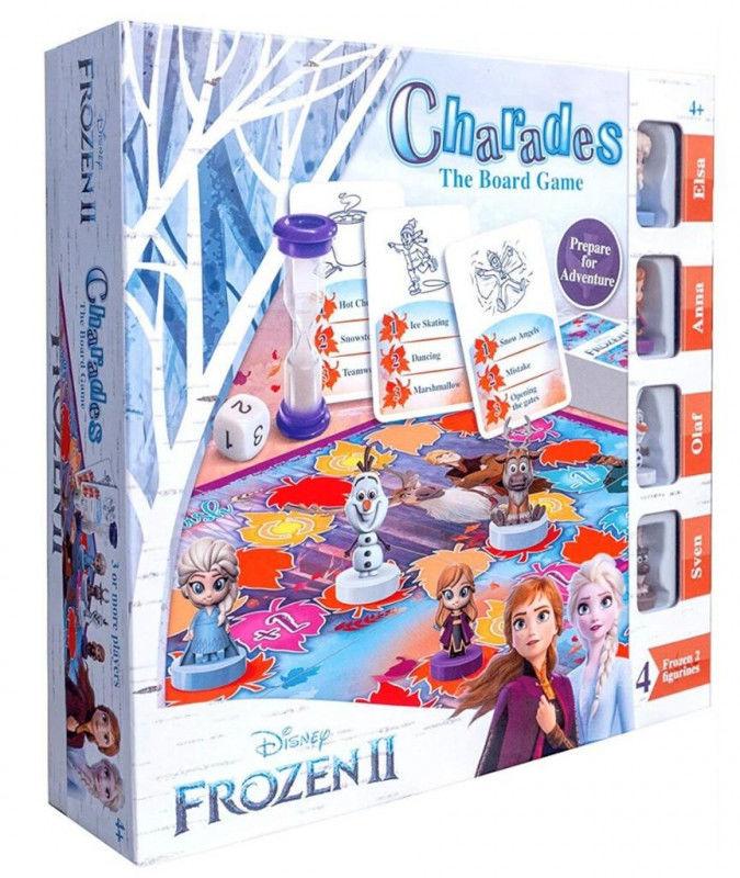 Frozen Kalambury gra planszowa ZAKŁADKA DO KSIĄŻEK GRATIS DO KAŻDEGO ZAMÓWIENIA
