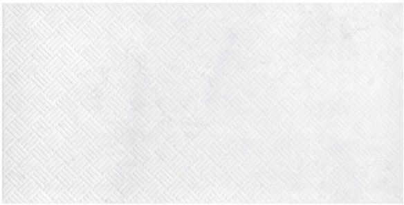 Dekor Metalized GoodHome 30 x 60 cm biały 1,08 m2