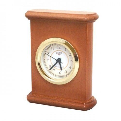 Drewniany zegar kominkowy #3