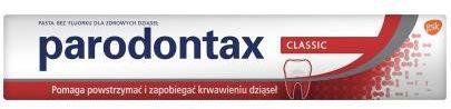 Parodontax Classic pasta do zębów przeciw krwawieniu dziąseł 75 ml