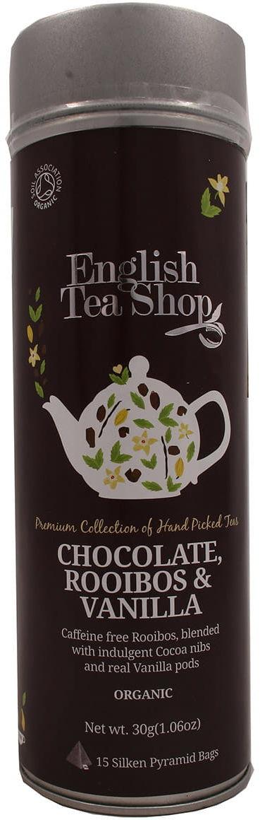 Herbata 15 chocolate rooibos vanilla English Tea Shop
