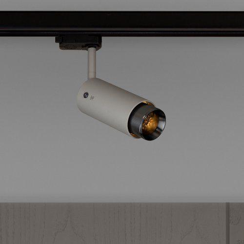 Lampa Exhaust Track Szara z gun metal