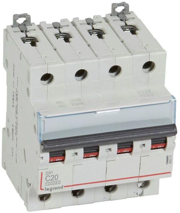 Wyłącznik nadprądowy 4P C 20A 10kA S314 DX3 409337
