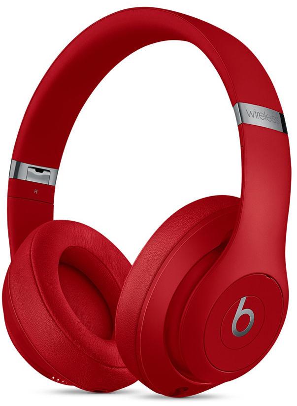 Beats Studio3 Wireless słuchawki bezprzewodowe (czerwone)