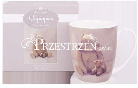 KUBEK PORCELANOWY ASHDENE Lillipippins - Pluszowy Miś