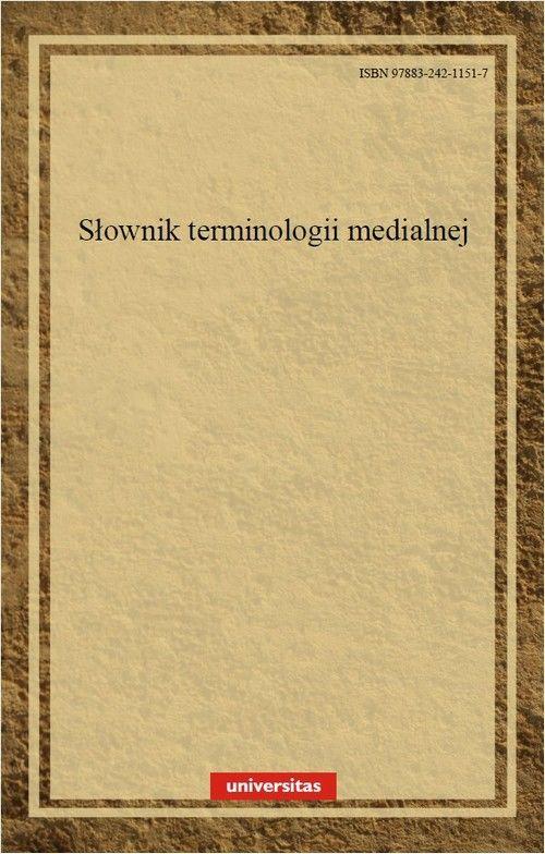 Słownik terminologii medialnej - Walery Pisarek - ebook