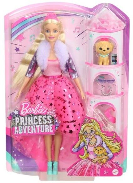 Barbie Princess Adventure Przygoda księżniczek Lalka Księżniczka GML76