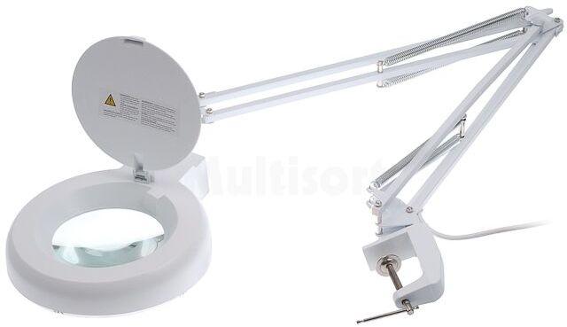 Lupa podświetlana stołowa 8 dioptrii fi 120mm