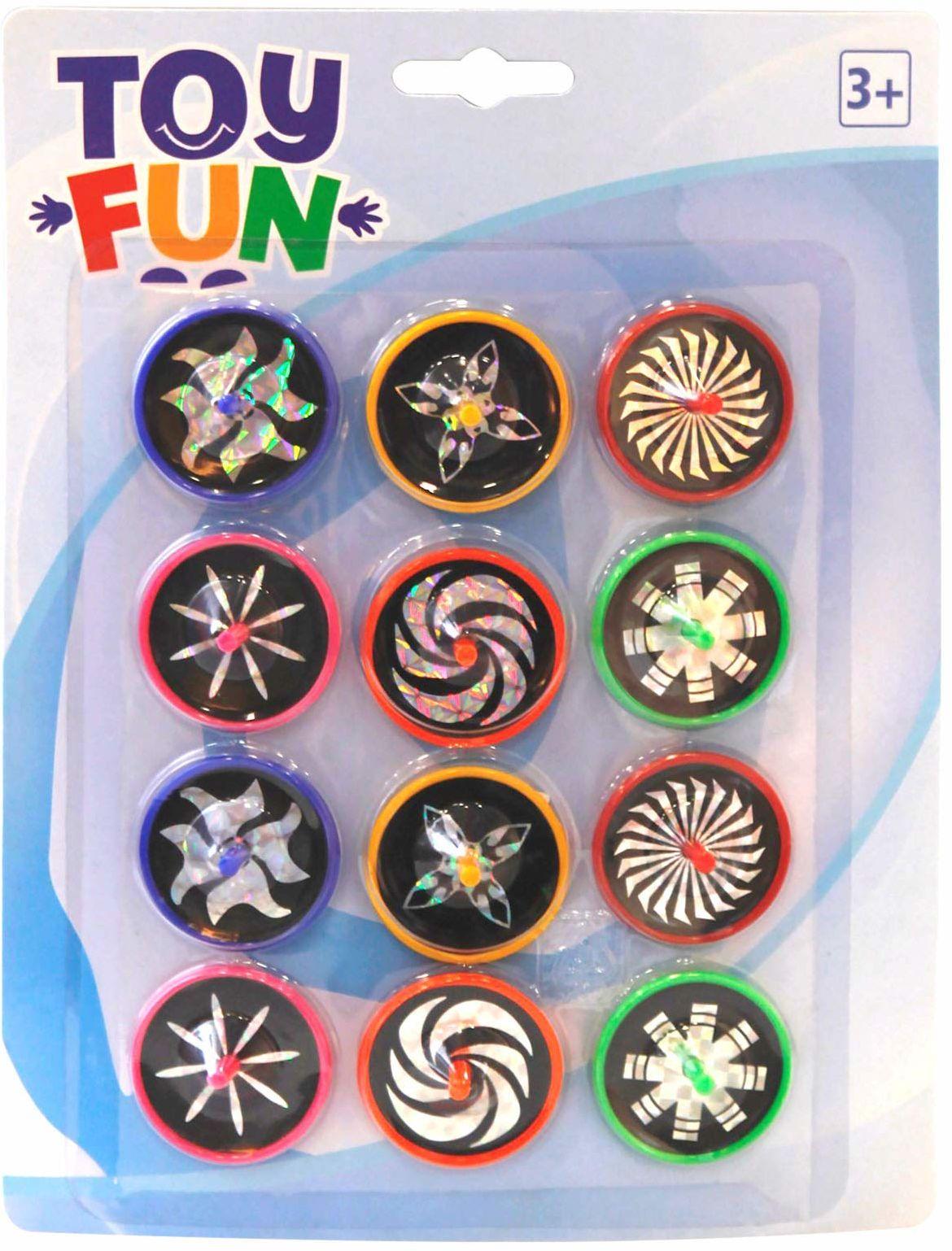 Toy Fun Laser krążek, 12 sztuk
