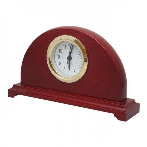 Drewniany zegar kominkowy #5