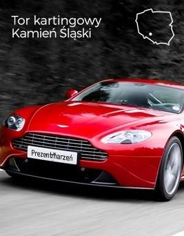 Jazda za kierownicą Aston Martina Vantage  Tor kartingowy Kamień Śląski