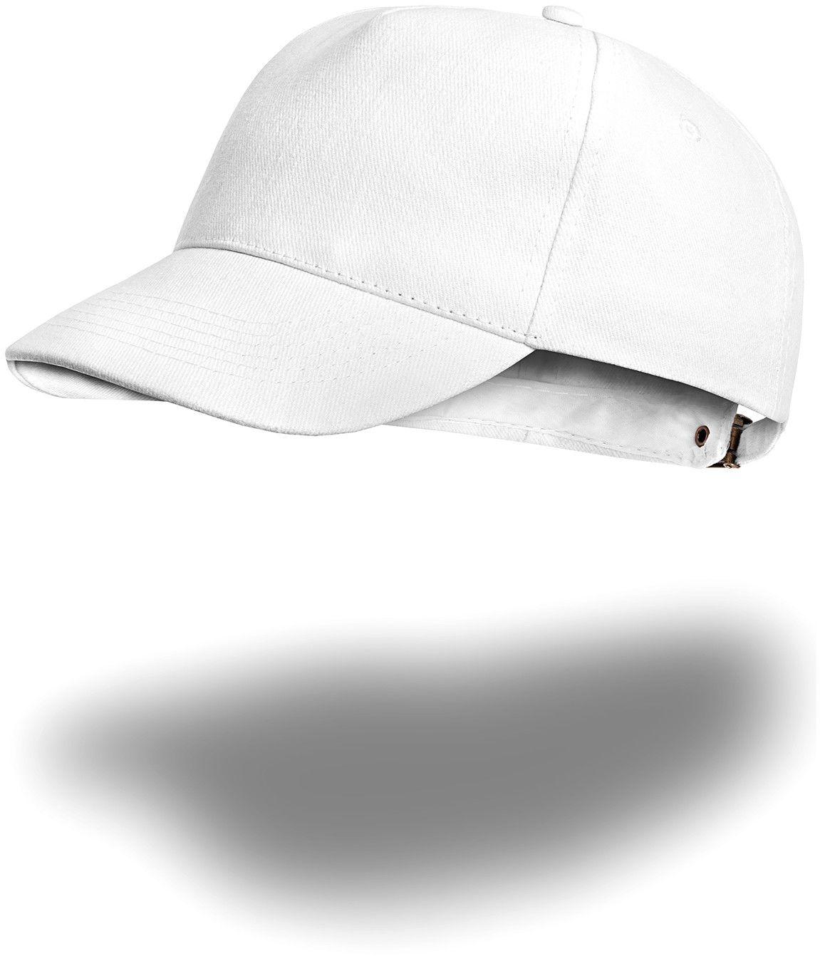 Czapka bejsbolówka - biała