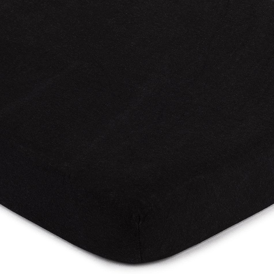 4Home prześcieradło jersey czarny, 90 x 200 cm, 90 x 200 cm