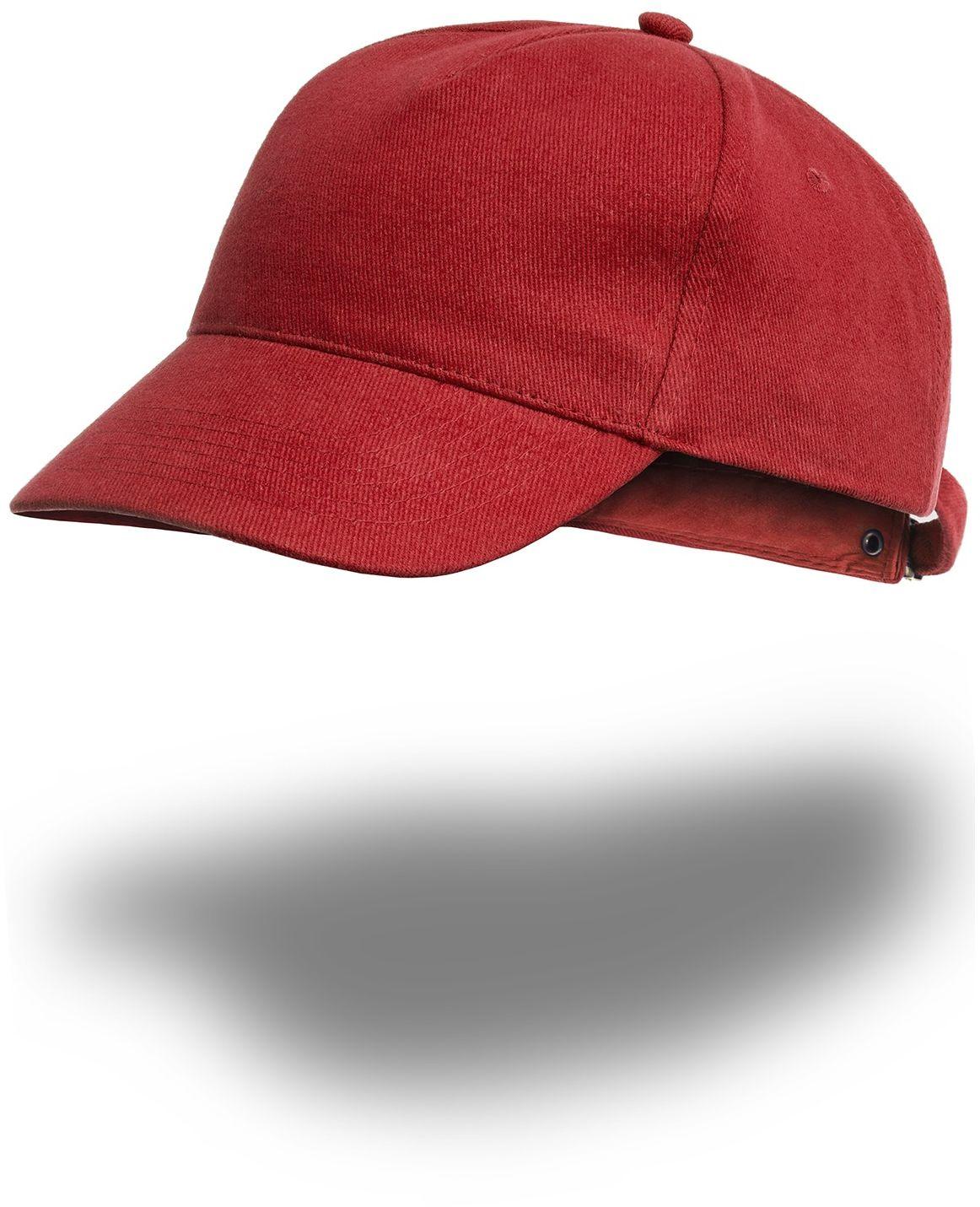 Czapka bejsbolówka - czerwona