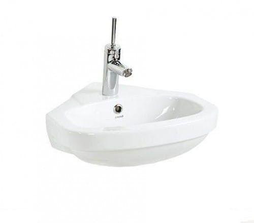 Umywalka narożna 46 cm biała, VITROYA CREAVIT