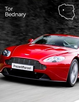 Jazda za kierownicą Aston Martina Vantage  Tor Bednary