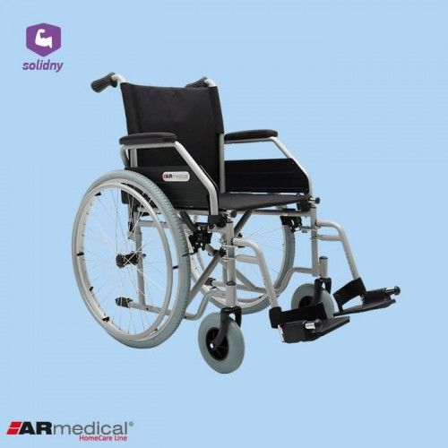 Wózek inwalidzki stalowy REGULAR AR-405