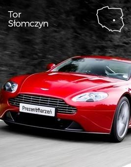 Jazda za kierownicą Aston Martina Vantage  Tor Słomczyn