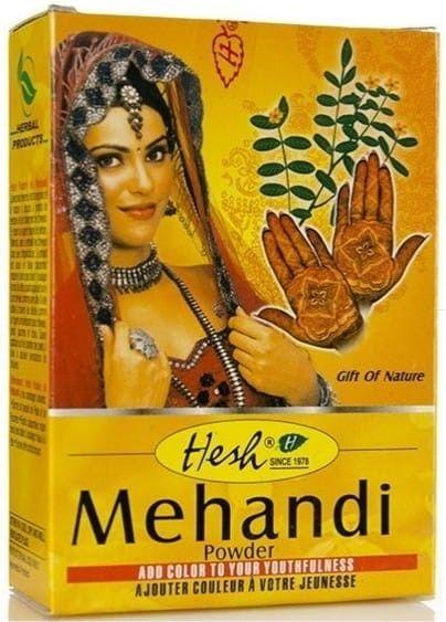 Henna Do Tatuażu i Włosów Mehandi Hesh 100g