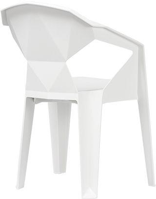 UNIQUE Krzesło MUZE WHITE