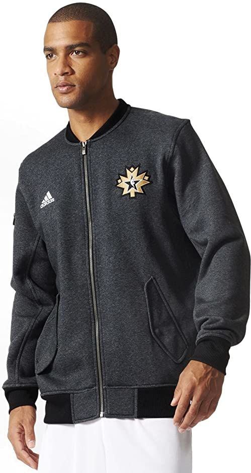 Adidas NBA All-star 2016 Warm up Full-zip kurtka męska Ac2560 szary szary XS