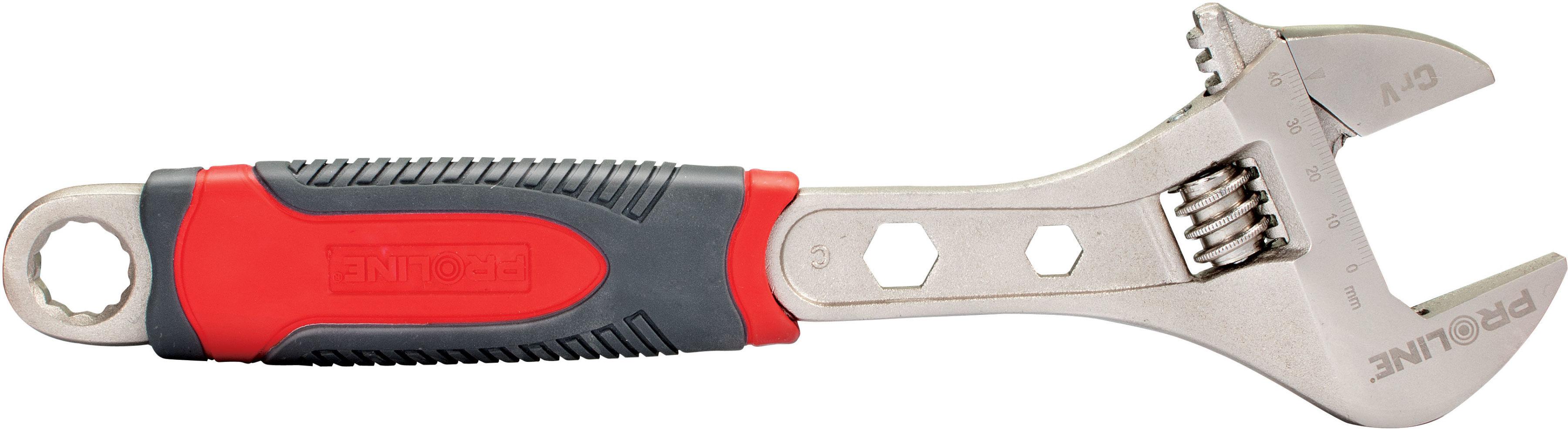 Klucz nastawny ślimakowy 200mm proline