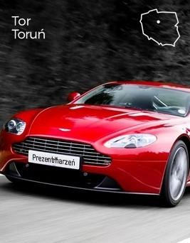 Jazda za kierownicą Aston Martina Vantage  Tor Toruń
