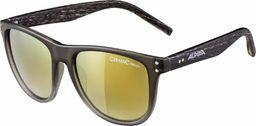 ALPINA Unisex - Dorośli, RANOM CMRG Okulary przeciwsłoneczne, grey gradient matt/rose-gold, One Size