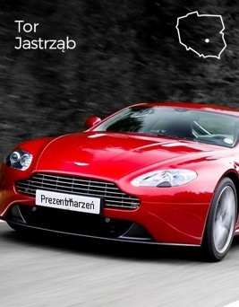 Jazda za kierownicą Aston Martina Vantage  Tor Jastrząb