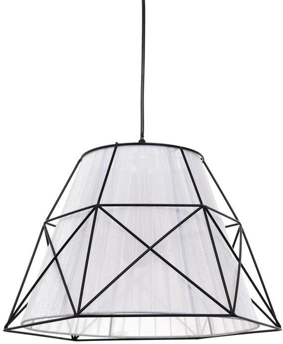 Lumina Deco Boneti skandynawska biała lampa wisząca
