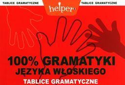 100% gramatyki języka włoskiego Tablice gramatyczne Helper ZAKŁADKA DO KSIĄŻEK GRATIS DO KAŻDEGO ZAMÓWIENIA