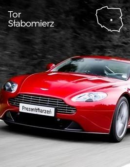 Jazda za kierownicą Aston Martina Vantage  Tor Słabomierz